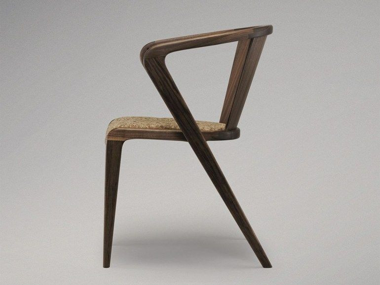 Chair With Armrests Portuguese Roots Aroundthetree Wooden