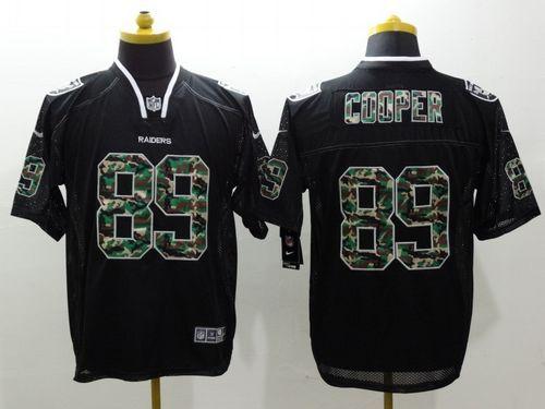 ... Nike Raiders 89 Amari Cooper Black Mens Stitched NFL Elite Camo Fashion Jersey  Youth Oakland Raiders Amari ... 9b035a857