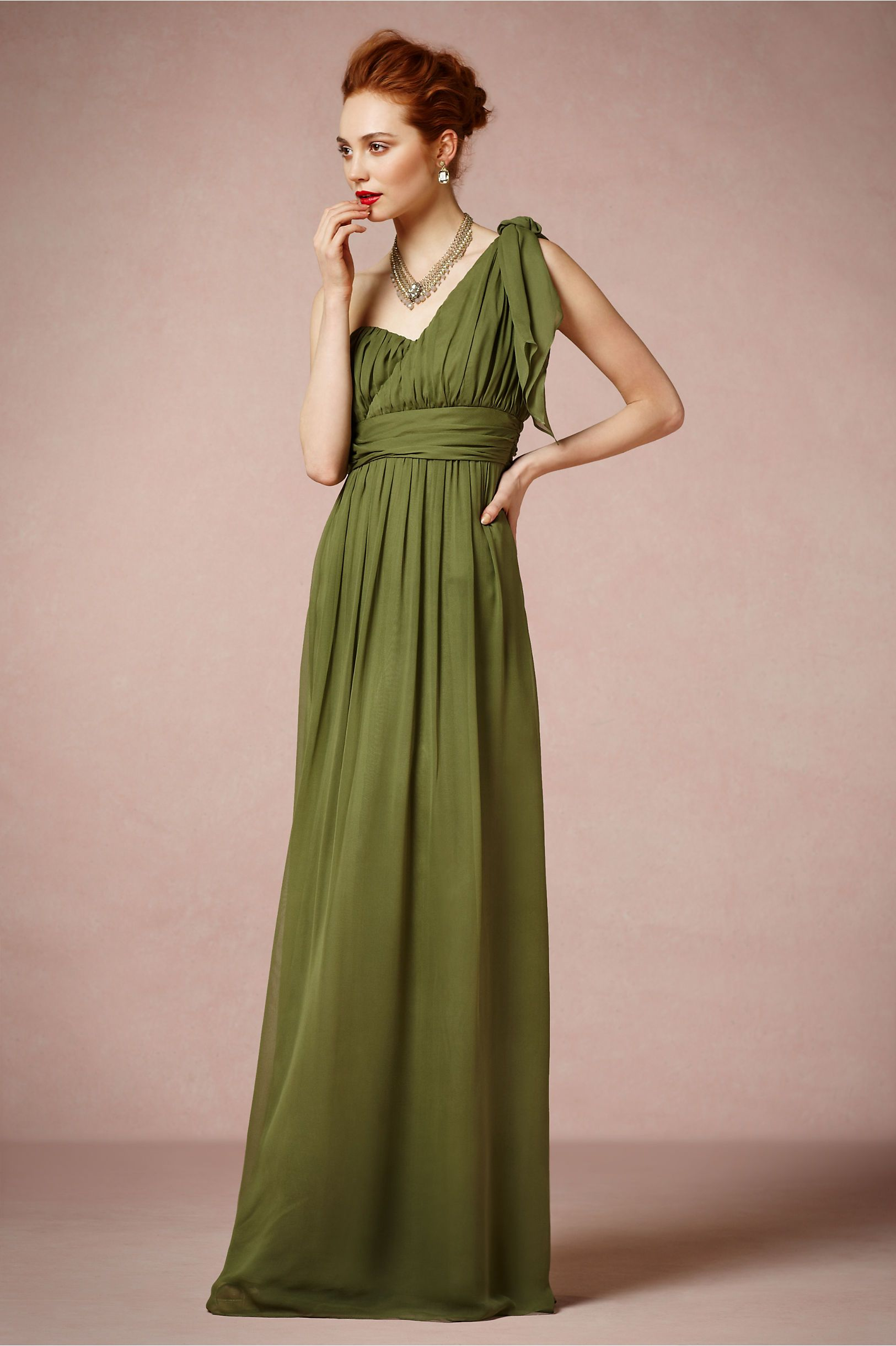 Thalia Maxi Dress in Bridesmaids & Partygoers Dresses at BHLDN ...