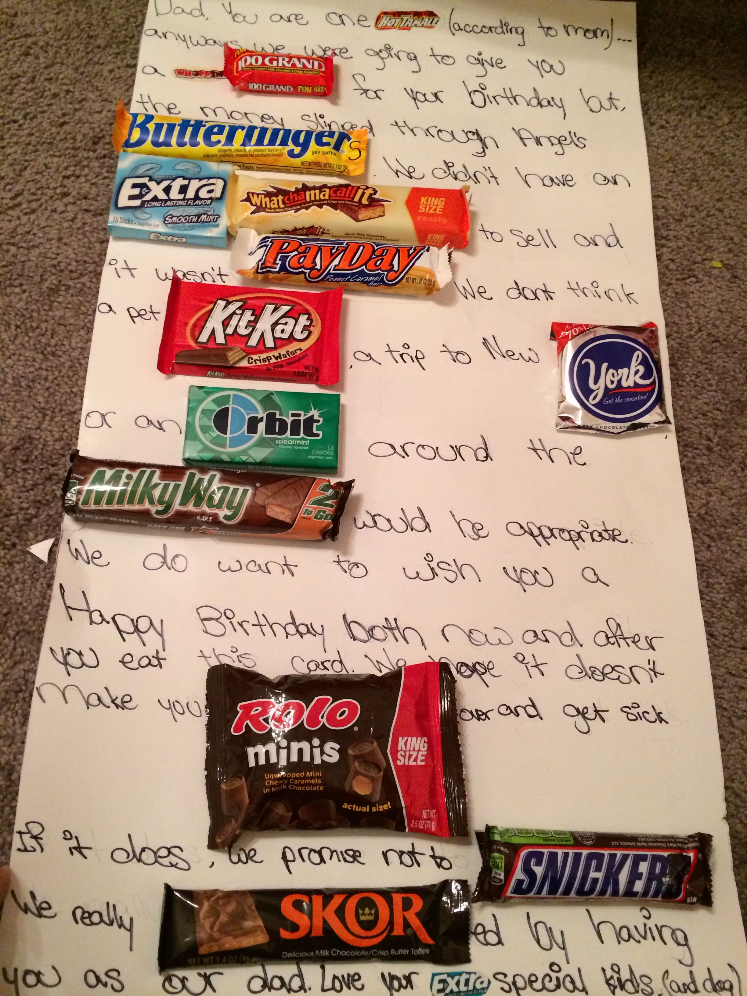 perfect present for dad's birthday | misc | pinterest | birthday