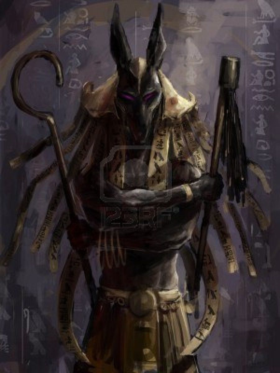 Another Anubis Dark And Well Done Egyptian Gods Anubis Gods