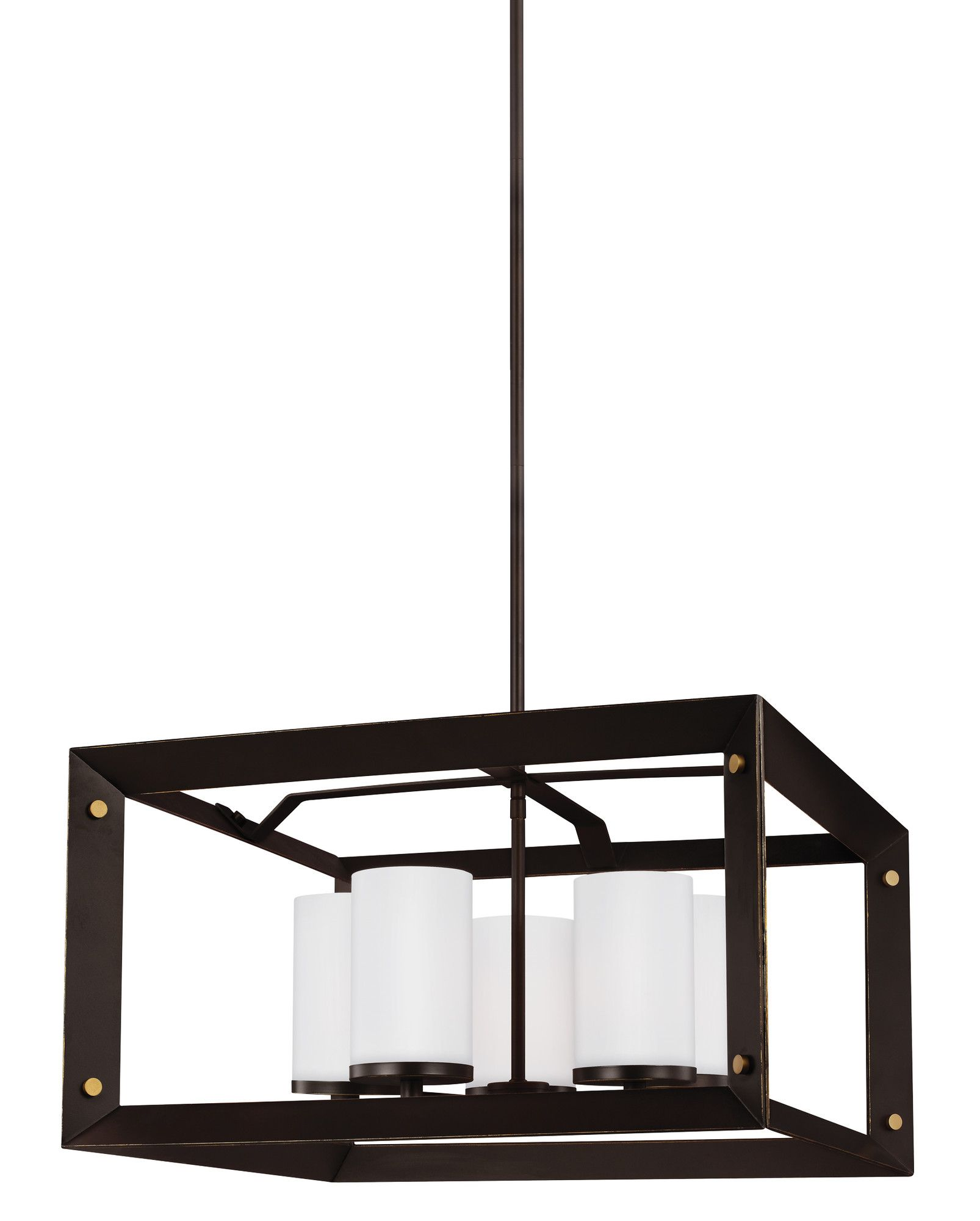 Chatauqua 9W 5 Light Shaded Chandelier