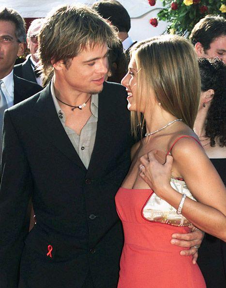 Jennifer Aniston Brad Pitt The Emmys September 2000 Brad Pitt And Jennifer Brad Pitt Jennifer Aniston Jennifer Aniston Style