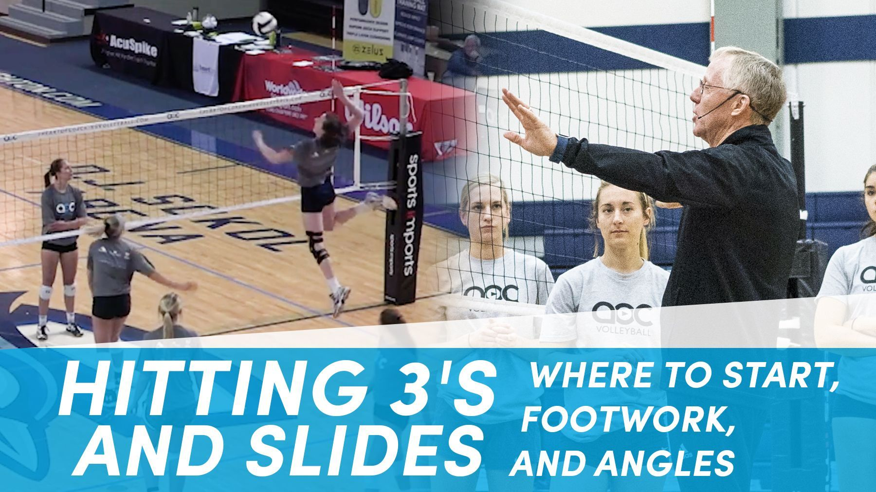Hitting 3 S And Slides Where To Start Footwork And Angles Volleyball Skills Coaching Volleyball Volleyball Training