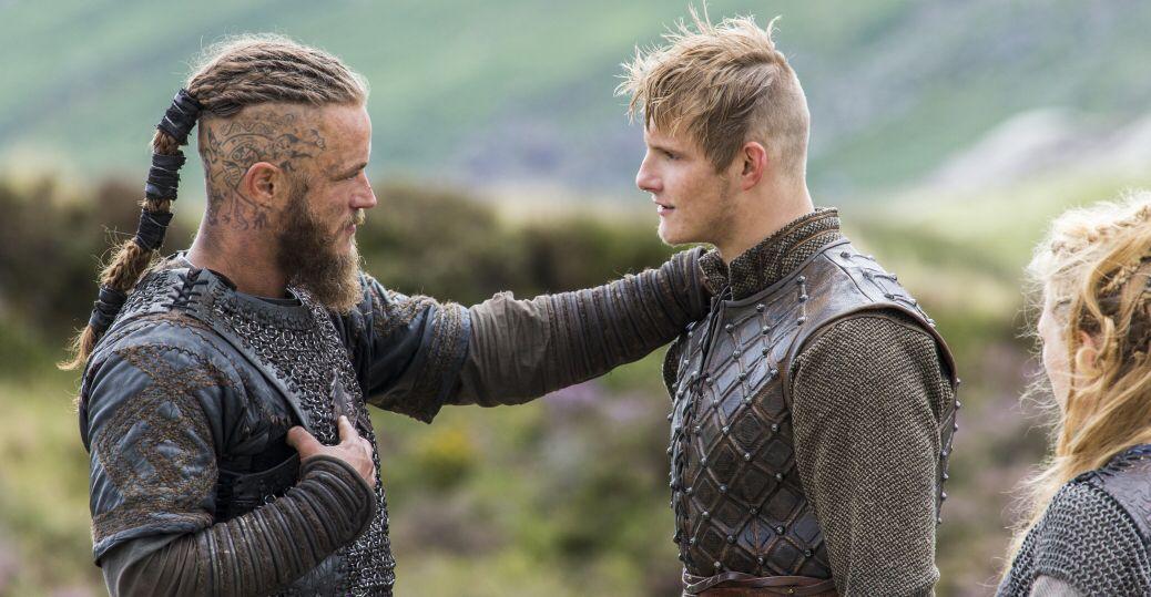 Weird Haircuts Love Em Historychannel Vikings Vikings Ragnar Vikings Tv Alexander Ludwig