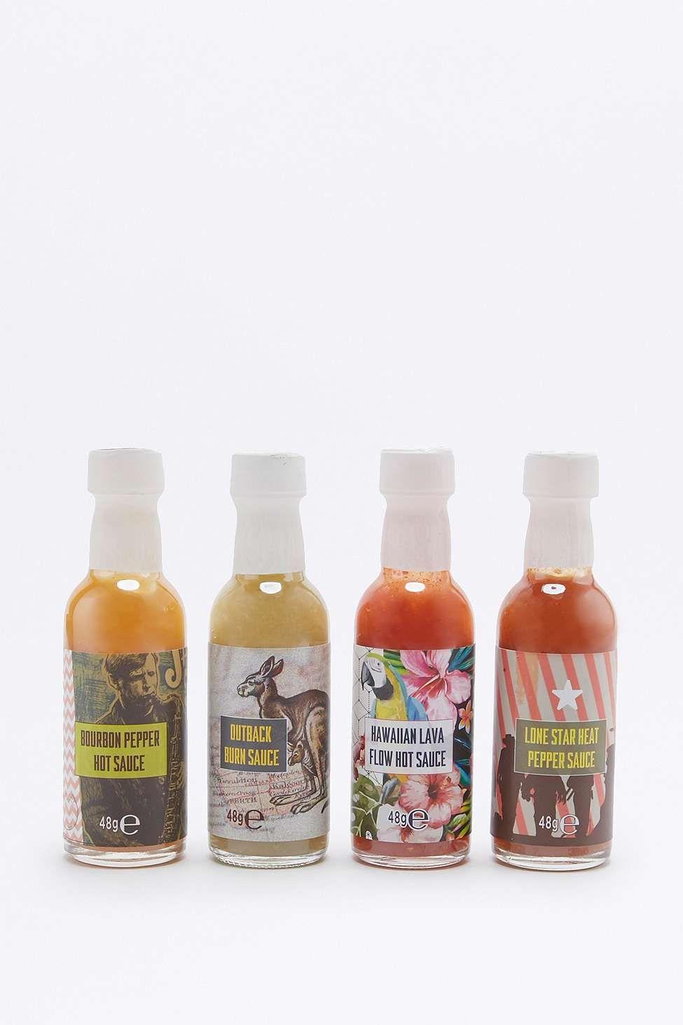 Global hot sauce set urban outfitters food hot sauce