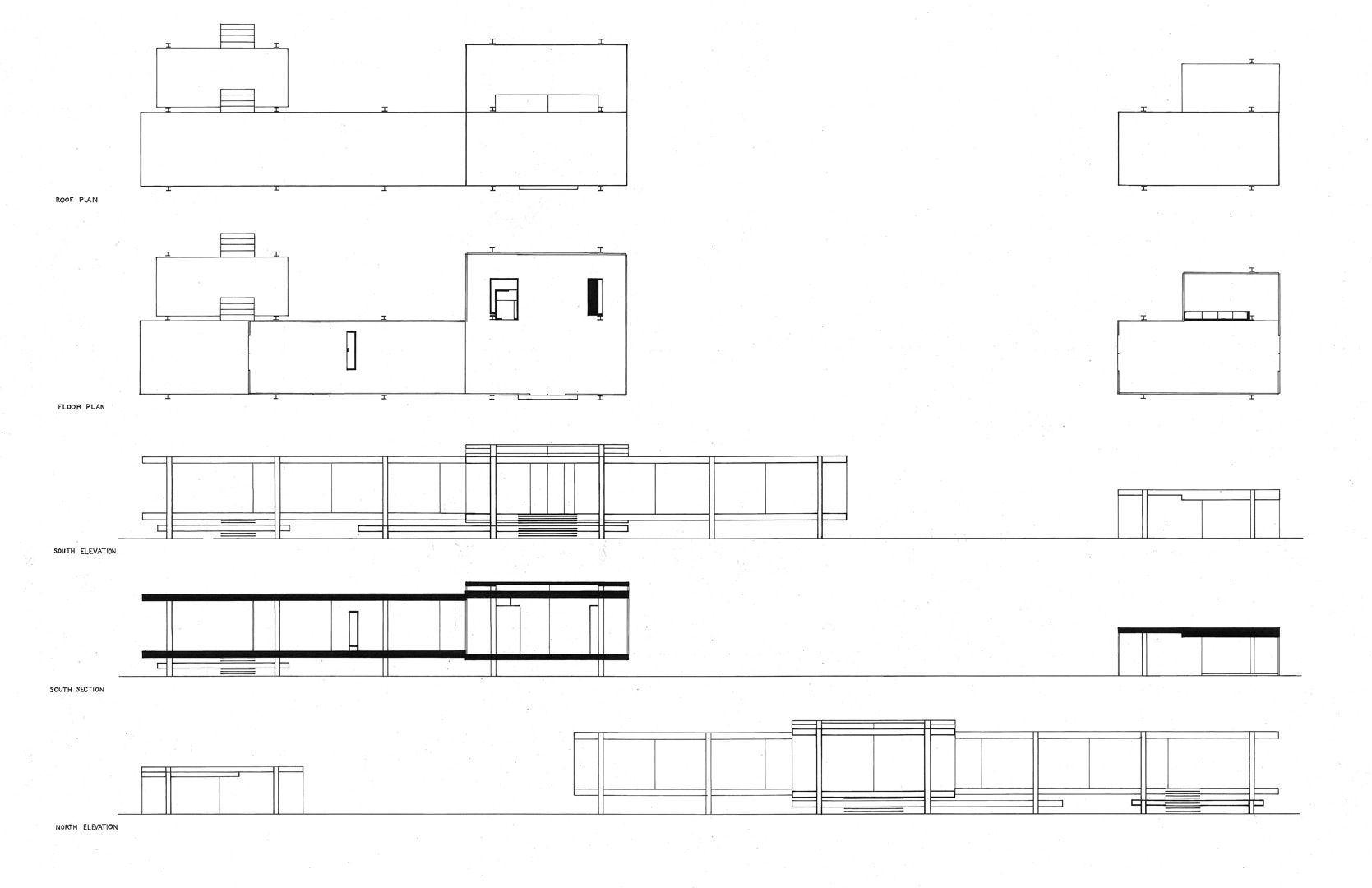 farnsworth house general plan mies inspiration pinterest farnsworth house architecture. Black Bedroom Furniture Sets. Home Design Ideas
