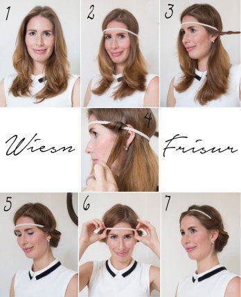 Wiesn frisur tutorial