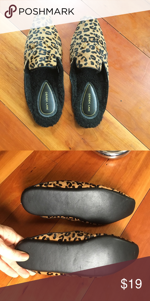 Derek Lamb house shoes slippers mules Derek lam and Customer support
