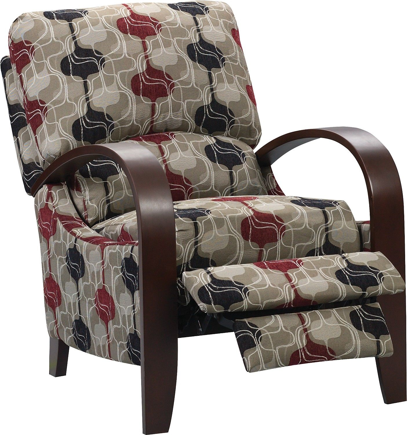This Wonderful Aaron Reclining Chair Blends Modern Style With Casual  Comfort In This Attractive, Contemporary Design. This Stylish Accent Chair  Will Make A ...