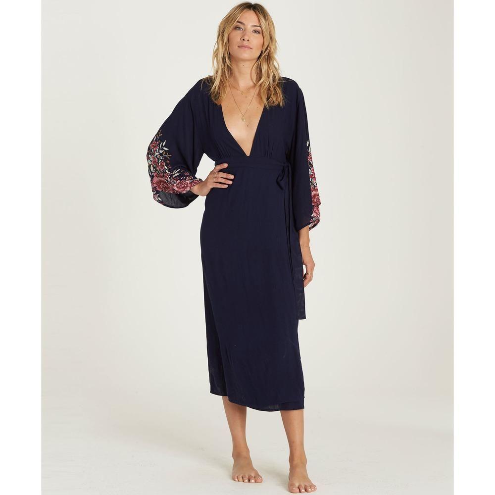 3909c39e627ca Billabong Robe Life Dress- Deep Sea   Products   Dresses, Billabong ...