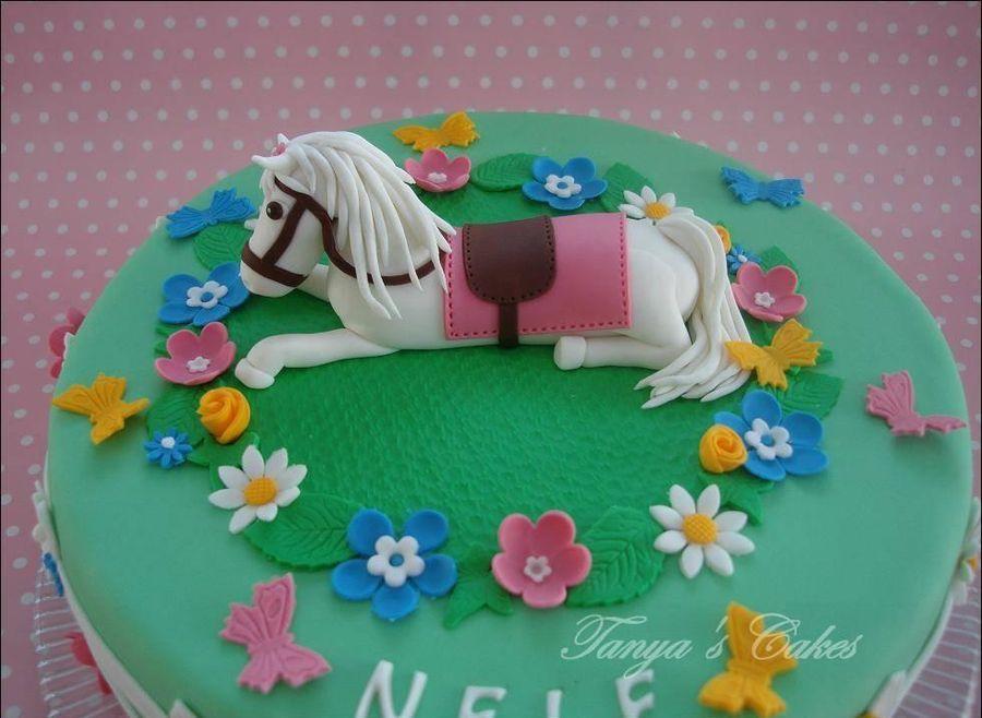 Awesome Horse Birthday Cake Horse Birthday Cake Birthday Cake Horse Birthday Cards Printable Giouspongecafe Filternl