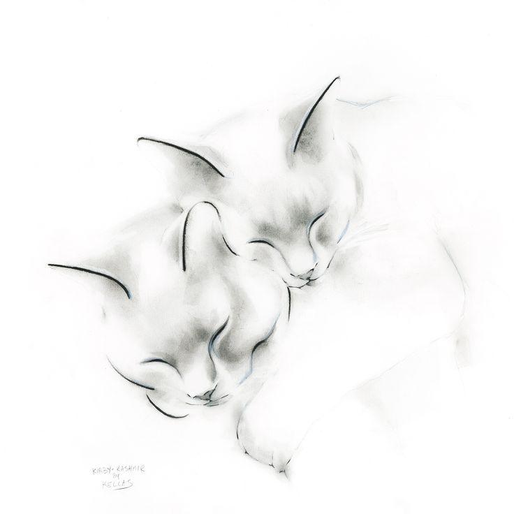 Kirby And Kashmir Tattoo Tattoos Katze Katzentattoos Katze