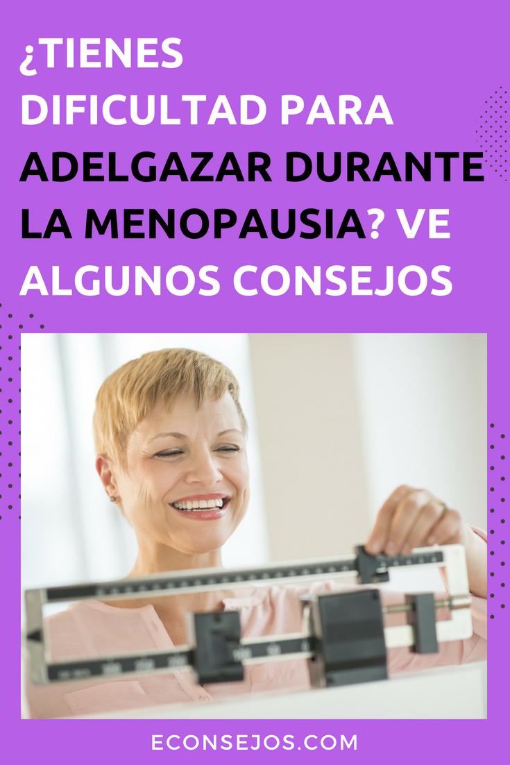 Como reducir la grasa abdominal en la menopausia