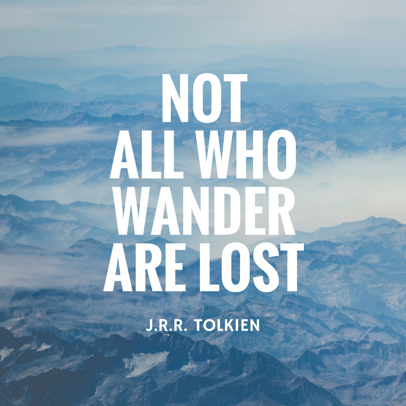 not all who wander are lost - 800×800