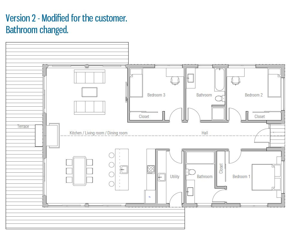 Nd Floor Plan AffordablehomeshouseplanCHjpg The - Affordable small modern house plan