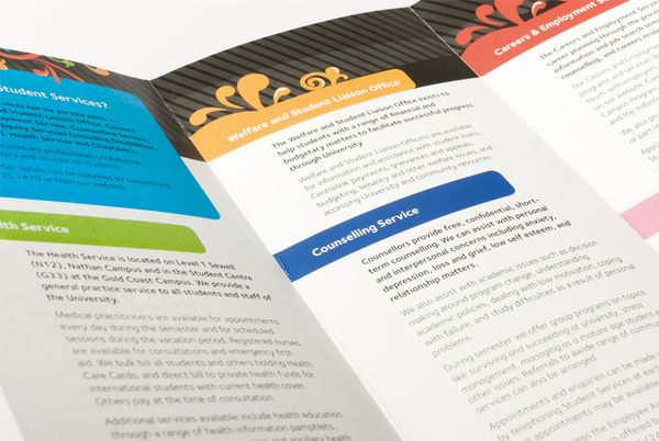 Student Services Brochure By Jess Parker Via Behance  Editorial