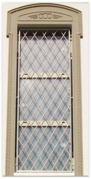 Inferriate e grate di sicurezza per finestre e porte - Grate per finestre ...