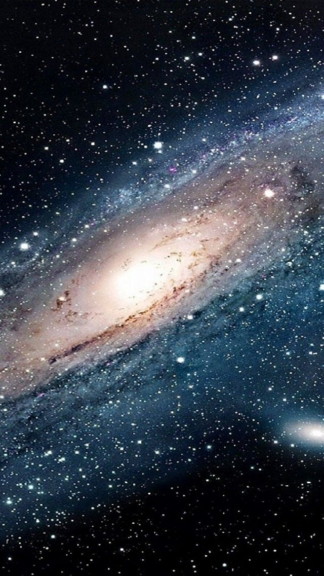 Space iPhone Wallpaper 29 Andromeda galaxy