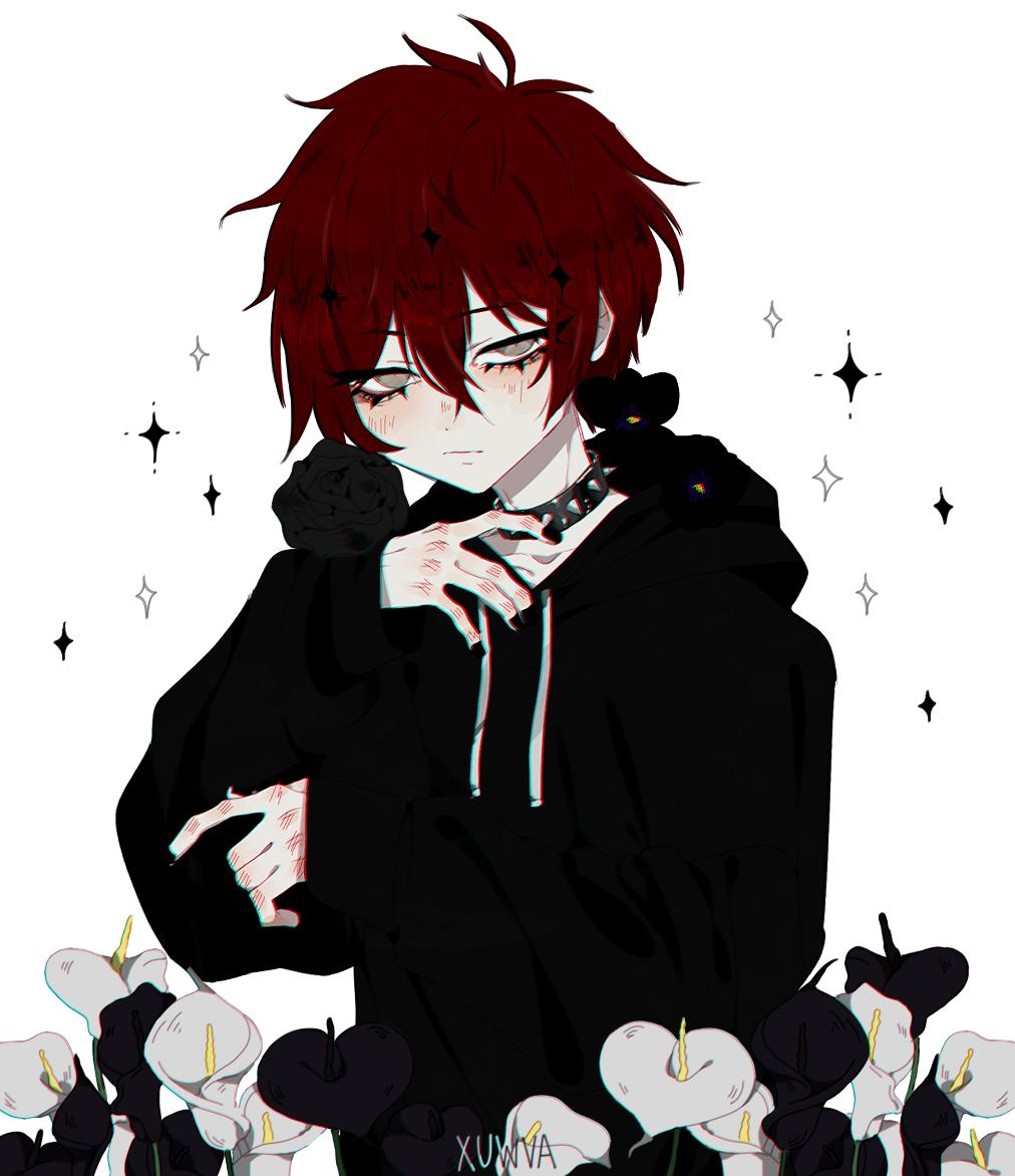 B By Xuwva Cute Anime Character Cute Anime Guys Dark Anime Guys
