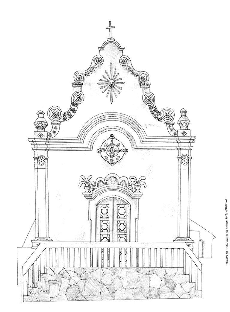 Igrejas Barrocas Brasileiras Desenho Barroco Arte Barroca Igreja