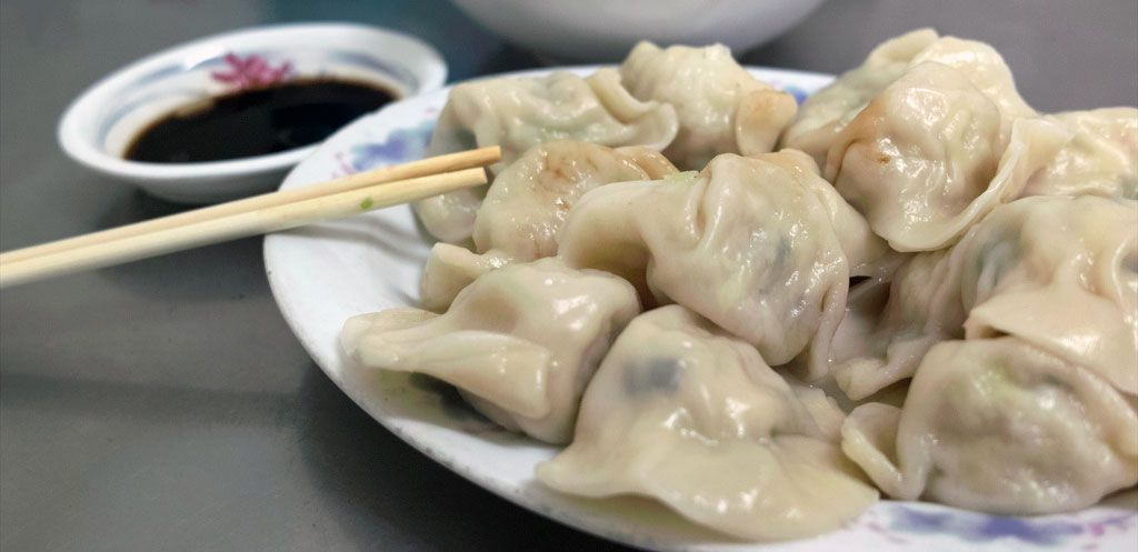 Two Dumpling Recipes For Chinese New Year Shrimp Pork Varieties From Fuchun Resort In China Chinese Dishes Spa Food Recipes