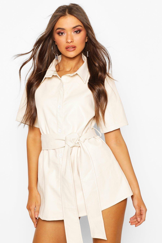 31+ Belted shirt dress info