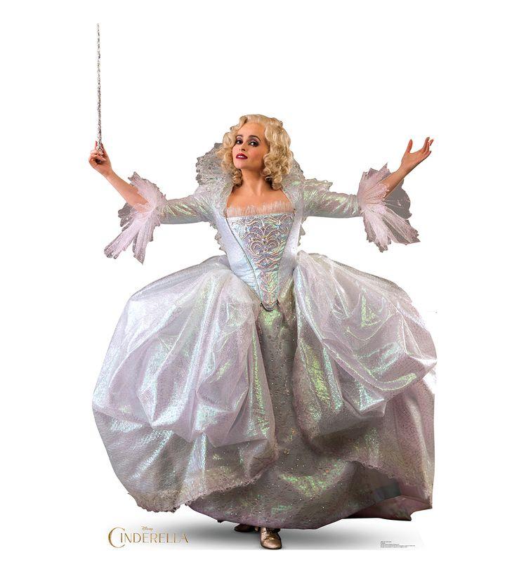 Simple Wedding Dress For Godmother: Fairy Godmother - Disney Movie Cinderella