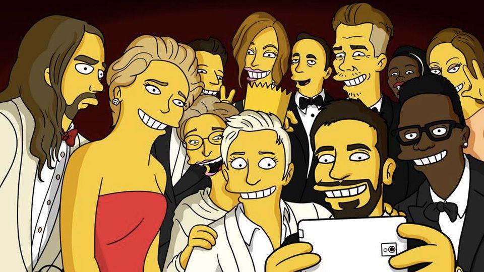 Criador De Os Simpsons Mostra A Verdade Por Tras Do Selfie Do
