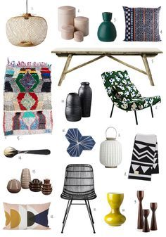 Summer Mod Patterns For The Home Decor 2016