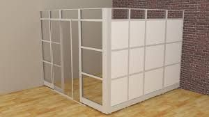 office divider walls. Office Divider Walls Room Dividers Glass Cubicle Panels Modular Cubicles 1039lx1039wx839h From 470448 In A