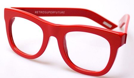 29a128ceab Super Ciccio Red 071 Eyeglasses with Free Ground Shipping