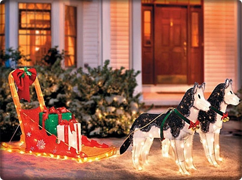 Dog Sled Christmas Decorations | www.indiepedia.org