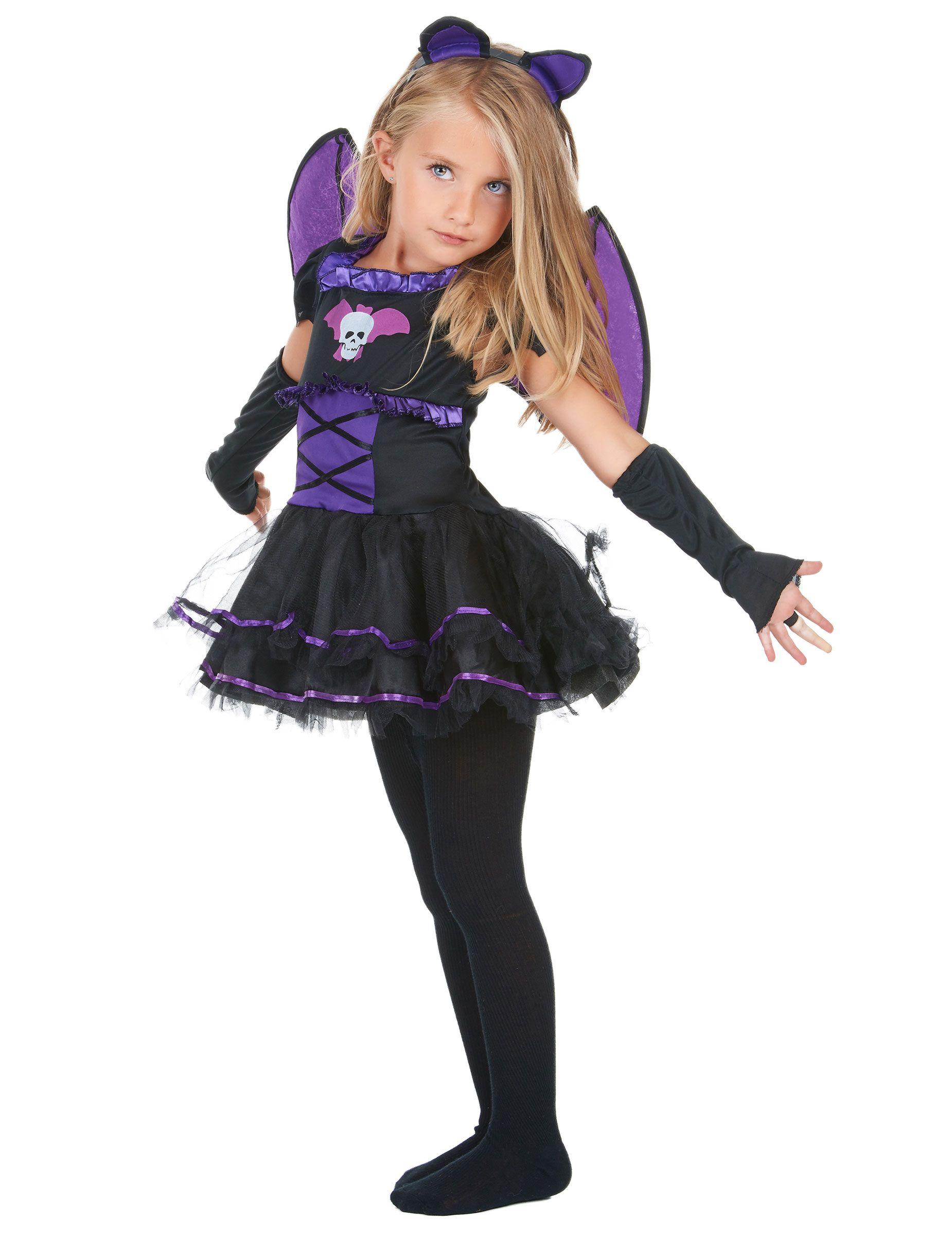 Disfraz de murciélago niña Disfraz halloween niña