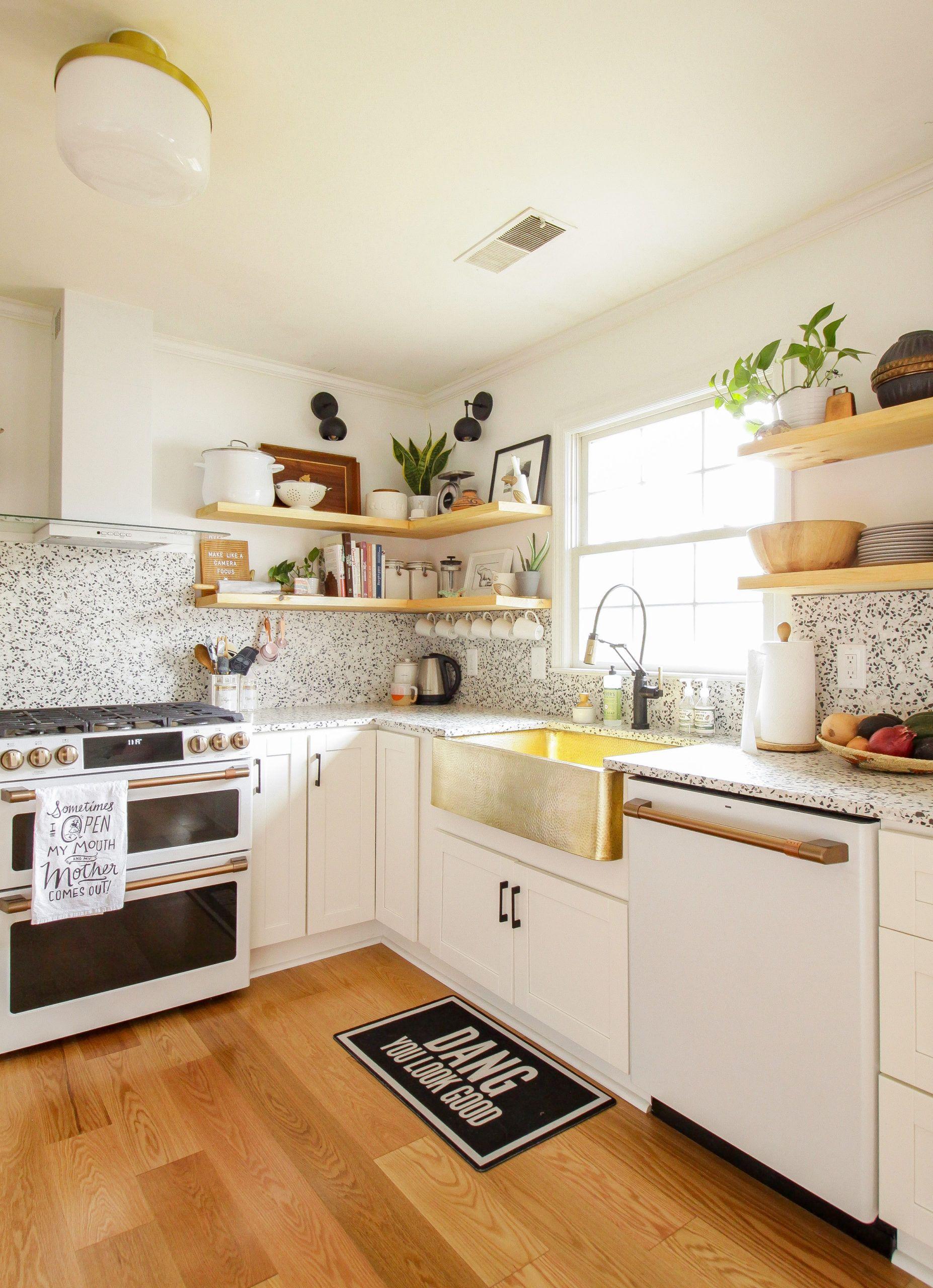Best Modern Timeless Organic Kitchen Reveal It S Finally 400 x 300