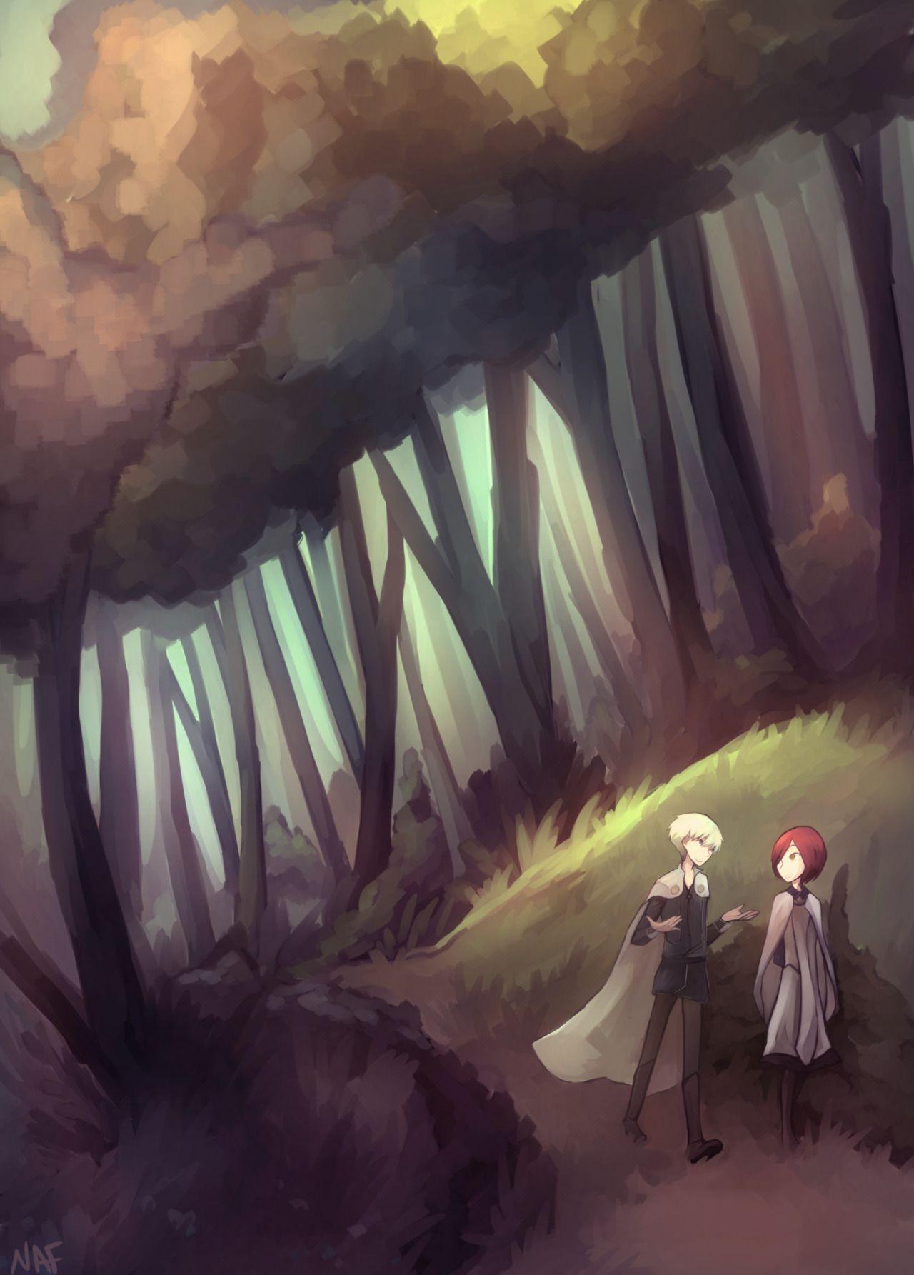 Akagami no Shirayuki-hime - Snow White with the Red Hair - Zen and Shirayuki - Credit goes to the artist!