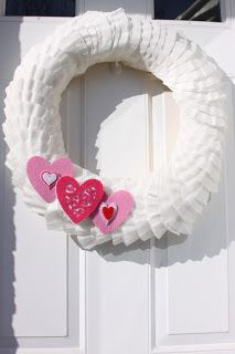 DIY-Valentine Wreath
