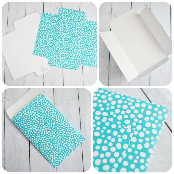 Diy Sobres Para Regalar Dinero Empaques Paper Envelopes How To