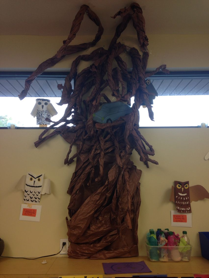 Whomping Willow Tree For Harry Potter Themed Classroom