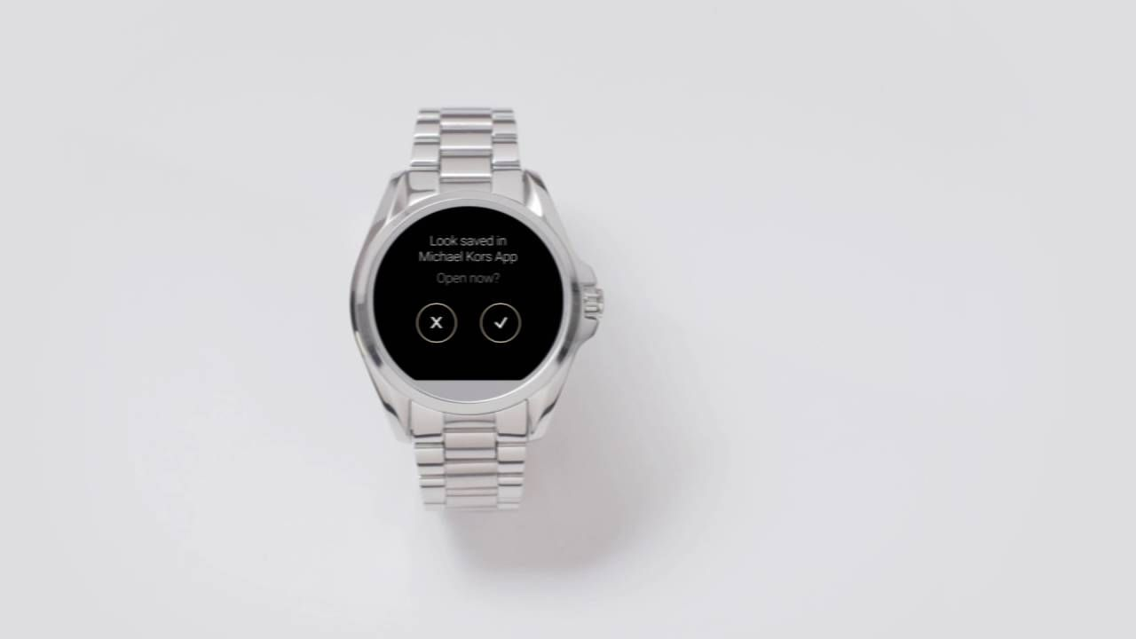 Michael Kors Access   Using Your Smartwatch l Android