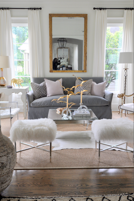Sally Wheat Interiors Hollywood Regency Living Room | Hollywood ...