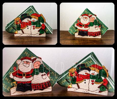 Diy servilletero navide o servilleteros navide os - Como hacer motivos navidenos ...