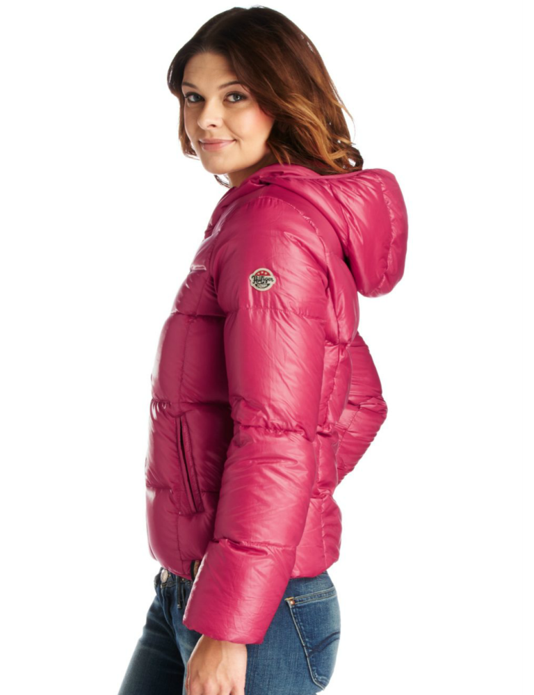 e84fc8ad9 Pink hooded Tommy Hilfiger down jacket | padded coats | Jackets ...