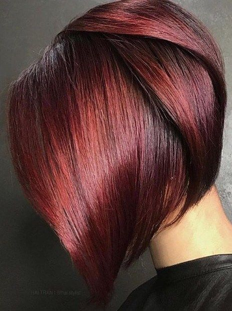 Kurze Frisuren Bangs Short Hair Latest Short Hairstyles Trends 2019 2020 Wine Hair Wine Hair Color Merlot Hair Color