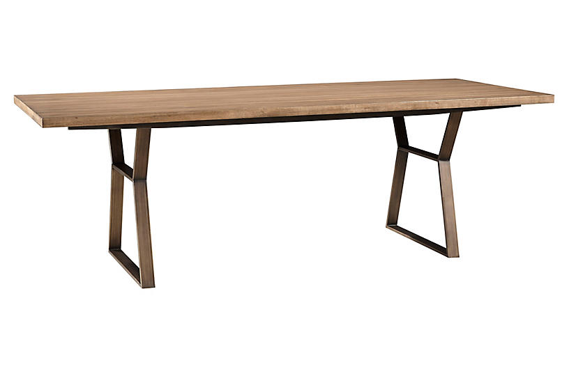 Ainsley Large Dining Table Natural Dining Tables Dining