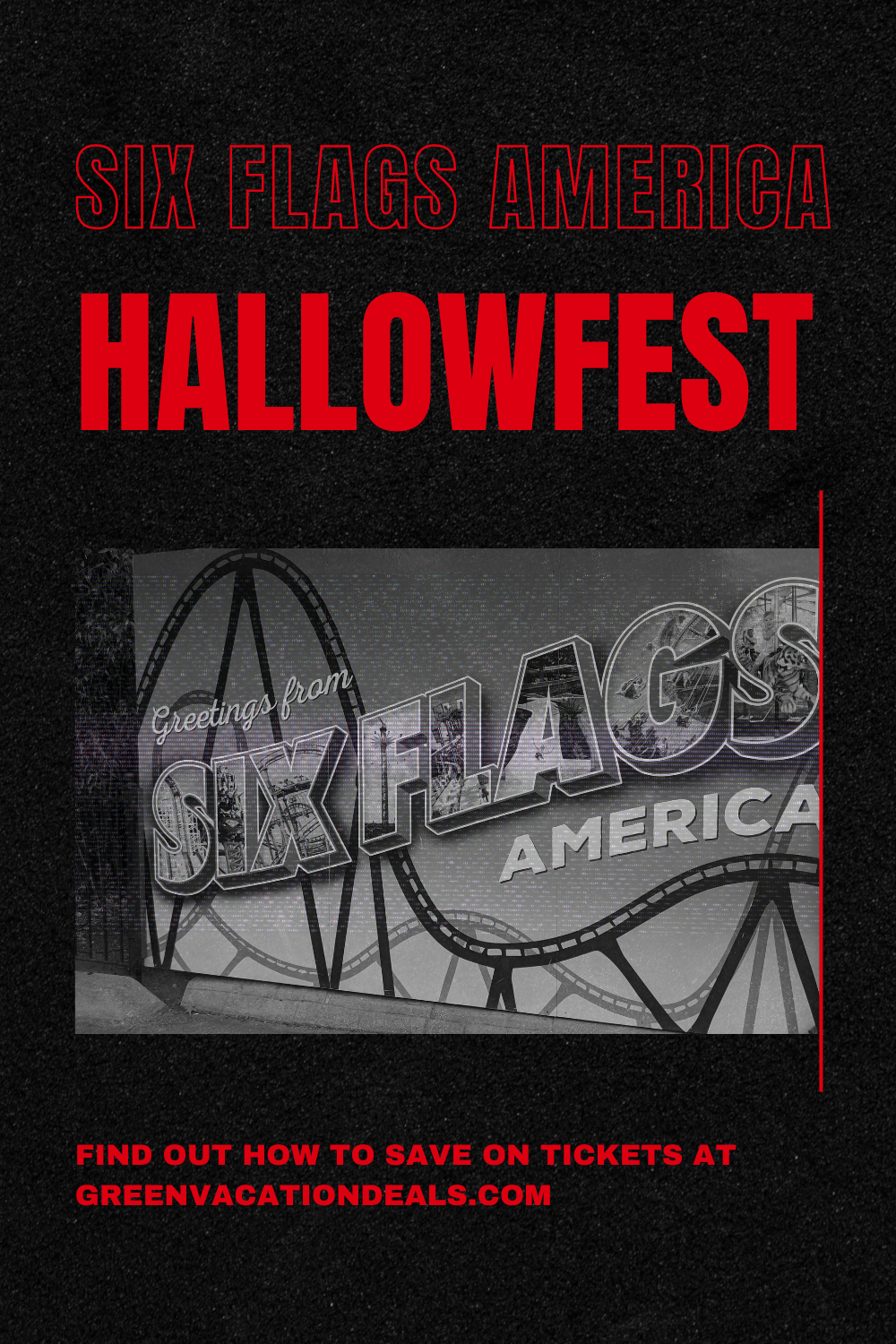 Halloween 2020 Dc Area Events HALLOWFEST at Six Flags America Promo Code | Green Vacation Deals
