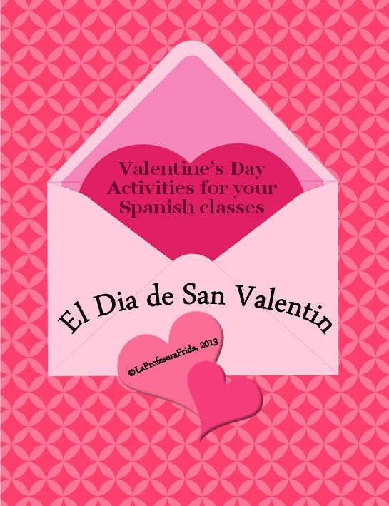 The Stress Free Spanish Teacher!: Spanish Valentine\'s Day Lessons ...