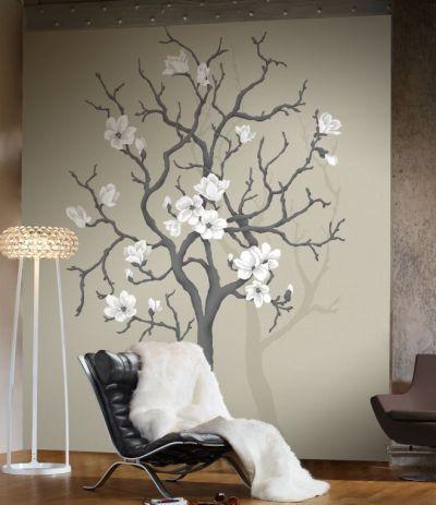 #home #decoration Mural #arbol China