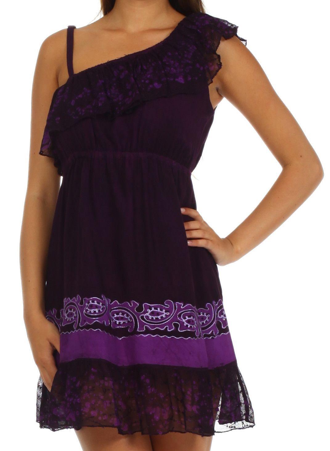 Sakkas Summer Solstice Batik Dress