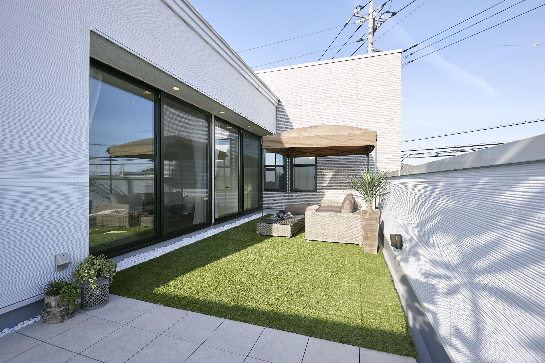 バルコニーを生かしたリビング設計の家 株式会社丸和住宅 栃木市